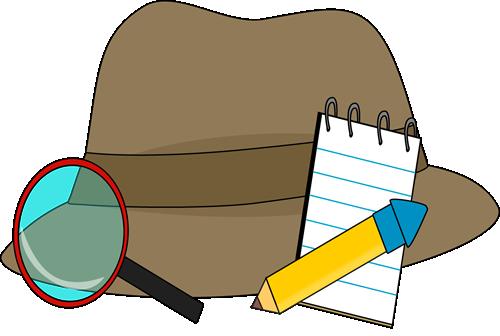Clip art images supplies. Detective clipart