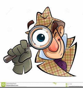 Detective clipart art. Free printable images at