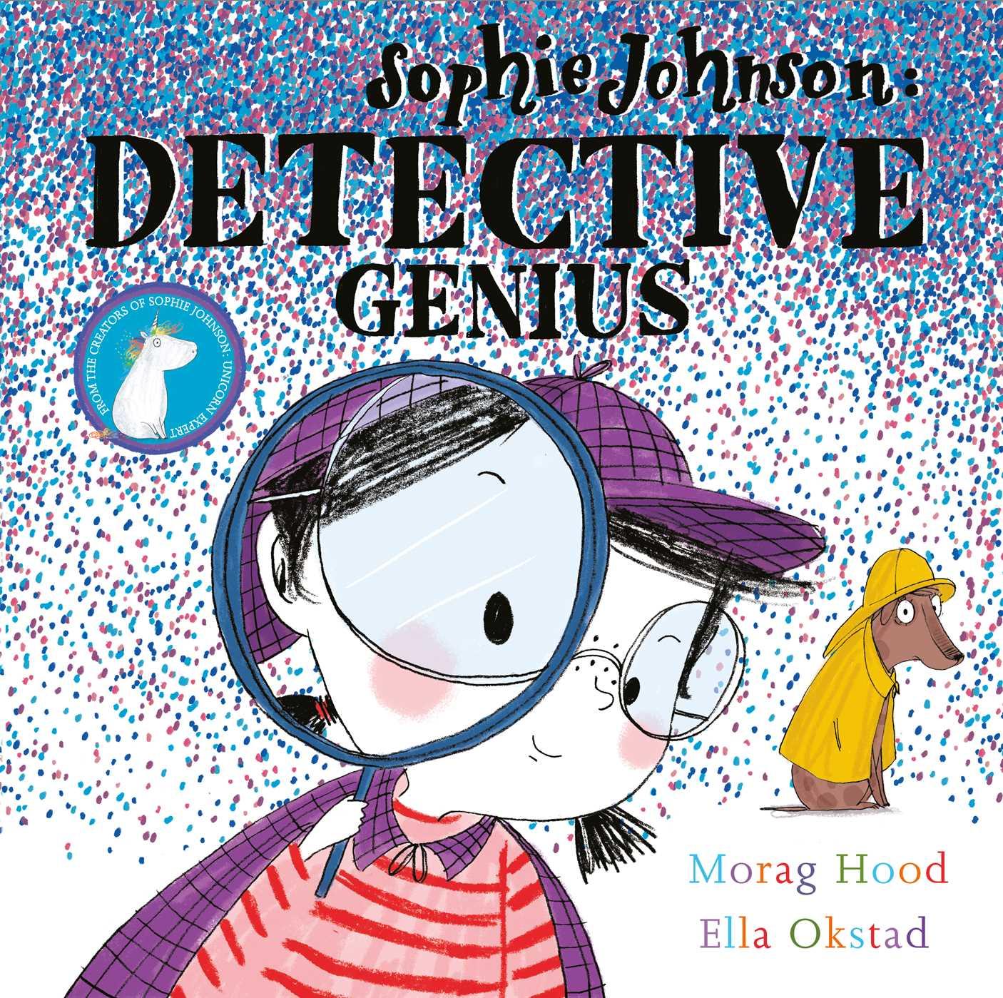 Sophie johnson genius book. Detective clipart author study