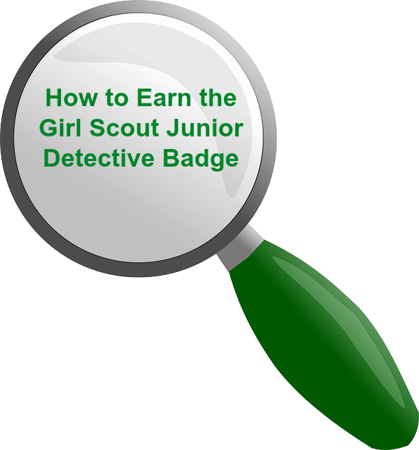 How to earn junior. Detective clipart badge