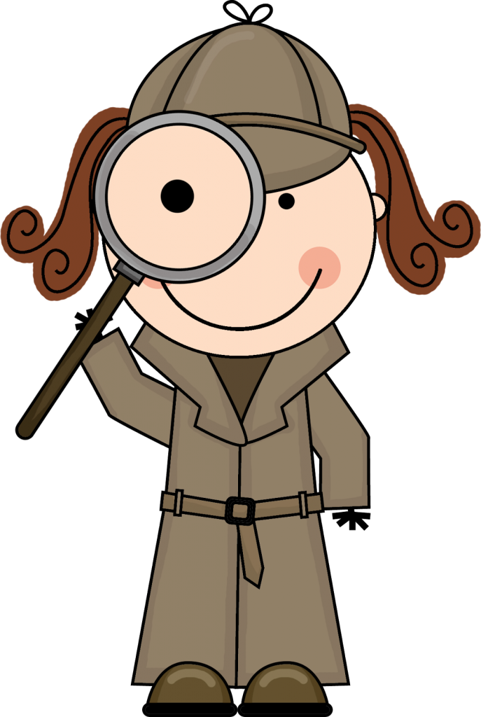 Surprise clipart amazed. Sleuth detective clipartioncom