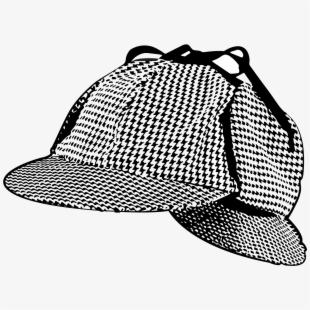 Detective clipart cap. Men old detectives searching