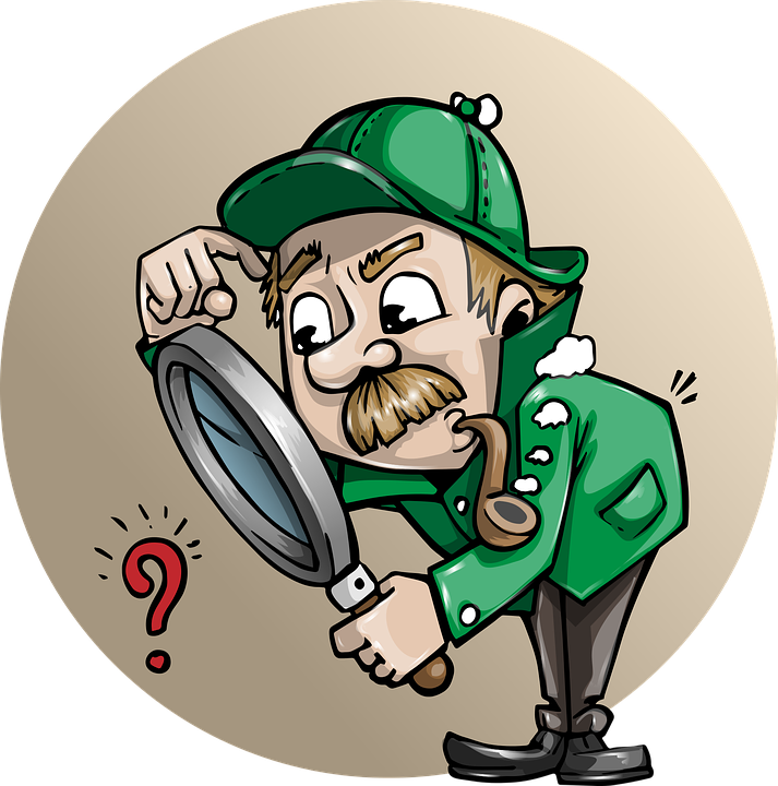 Freewrite min prompt steemit. Detective clipart change