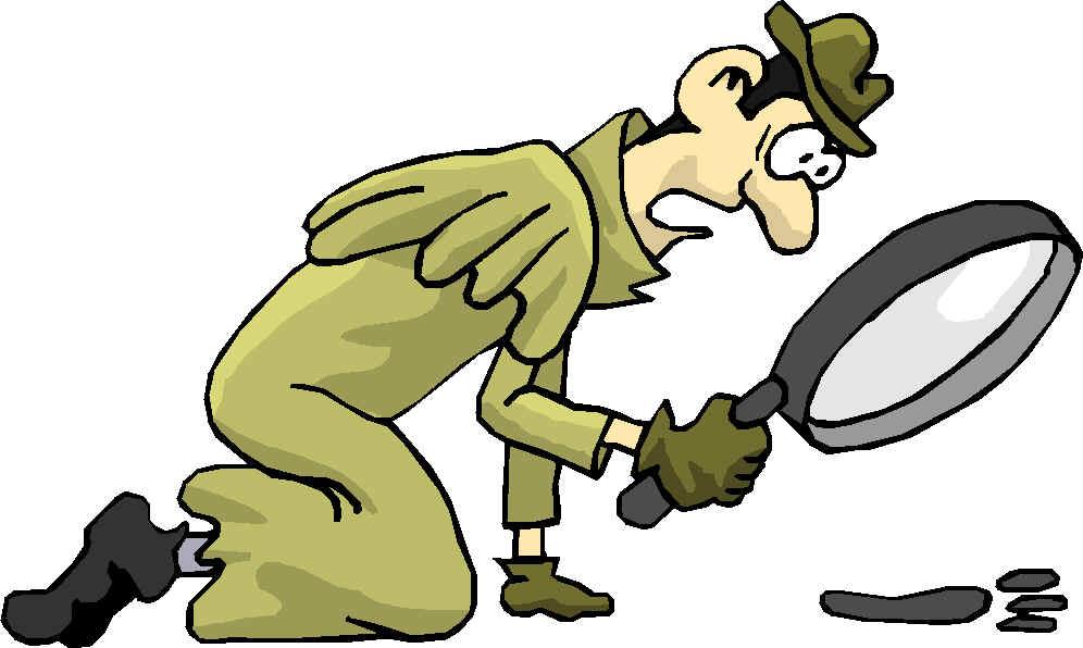 Evidence clipart cluedo. Clue detective clip art