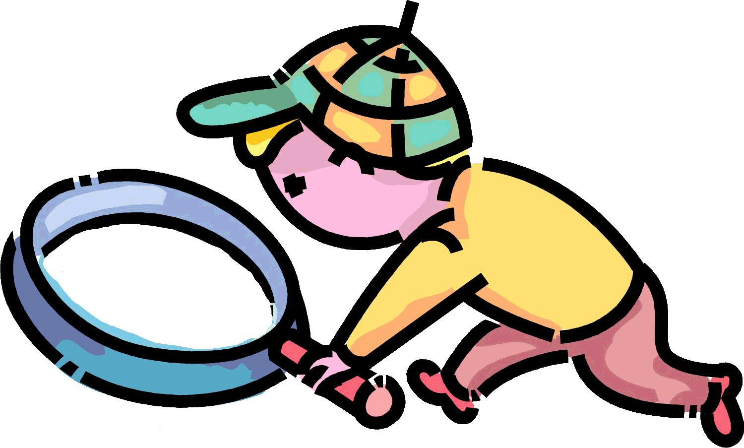 Dinosaur detectives on the. Detective clipart clue