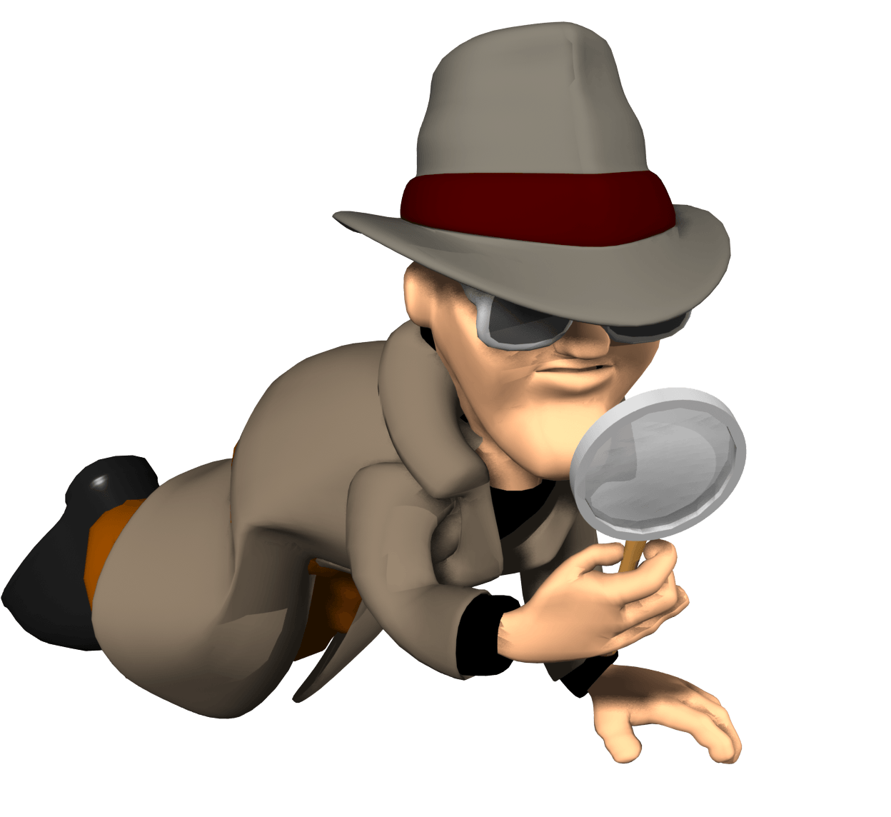 Detective clipart clue. About how the hell