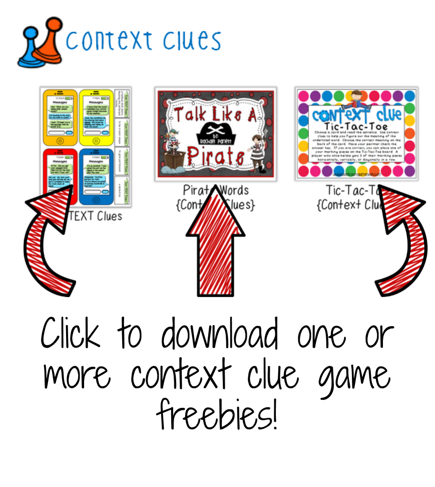 Game freebies classroom if. Detective clipart context clue