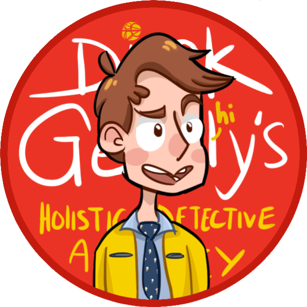 Dirk gently s holistic. Detective clipart detective case file