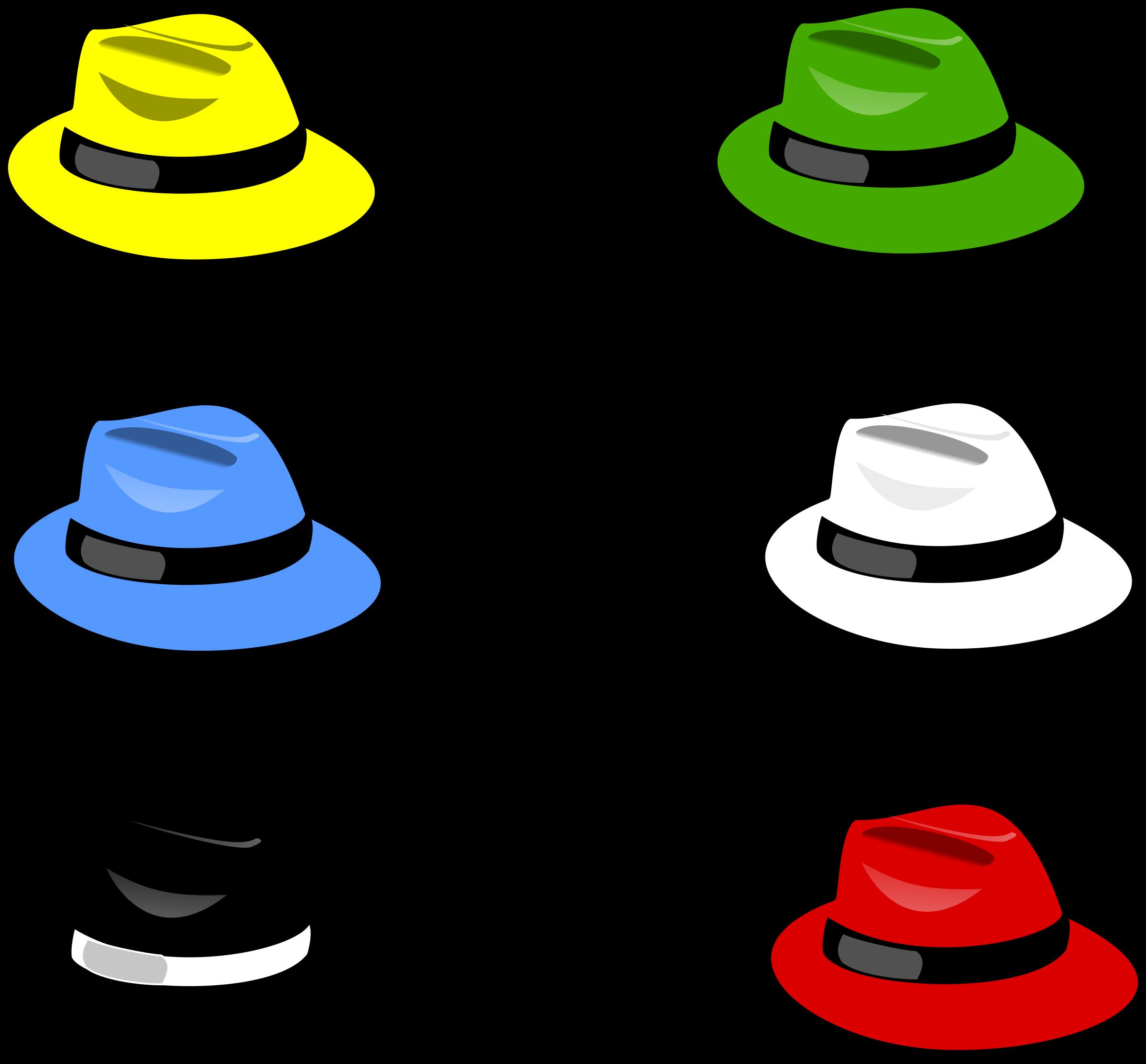 Detective clipart detective hat. Six hats big image
