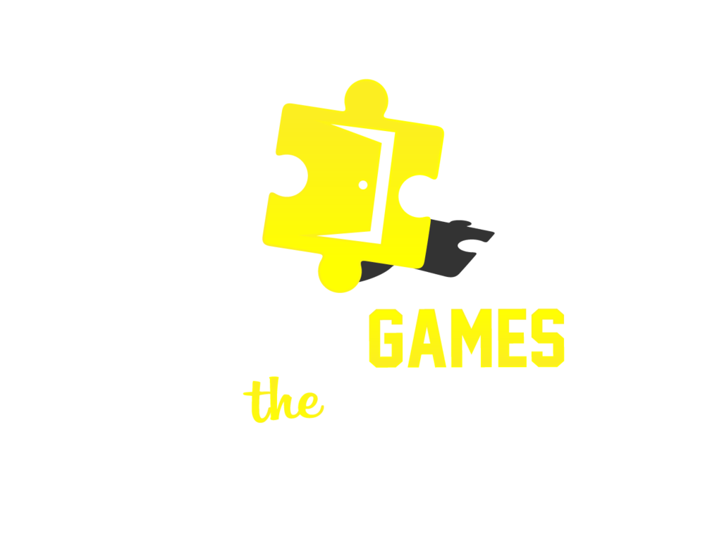 Games at the river. Detective clipart escape room