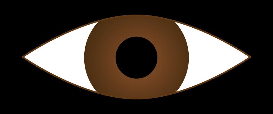 Eyeball clipart visual. Drawing images at getdrawings