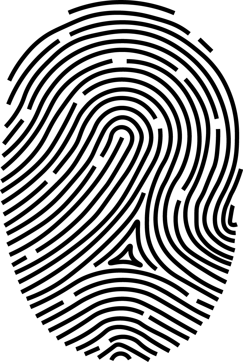 Solution reader thumbprint software. Fingerprint clipart biometric scanner