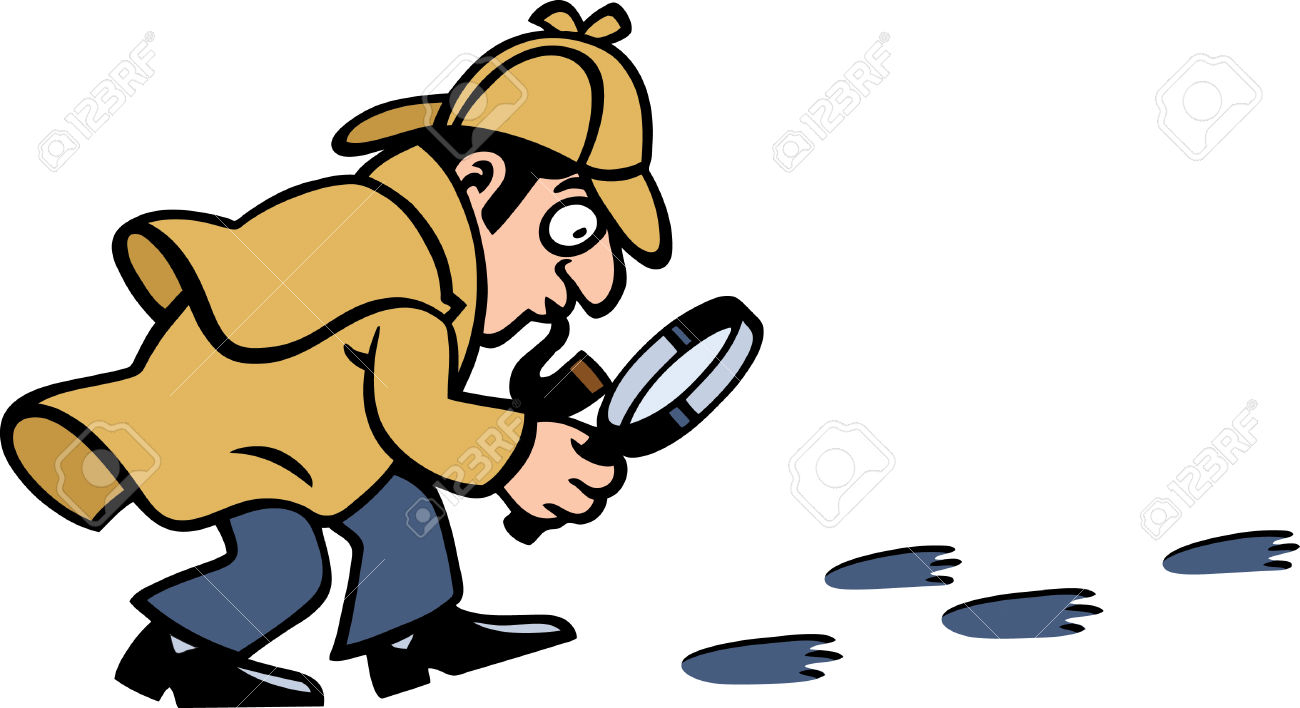 Detective clipart footprints. Footprint x free clip