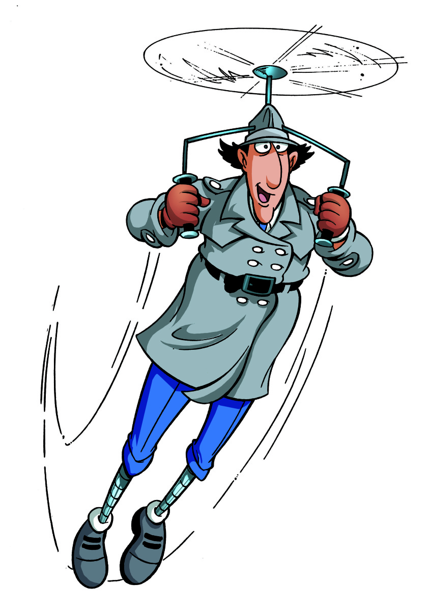 Collection of free bill. Detective clipart gadgets