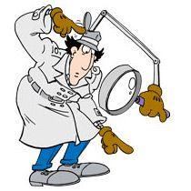 Detective clipart gadgets. Inspector free download best