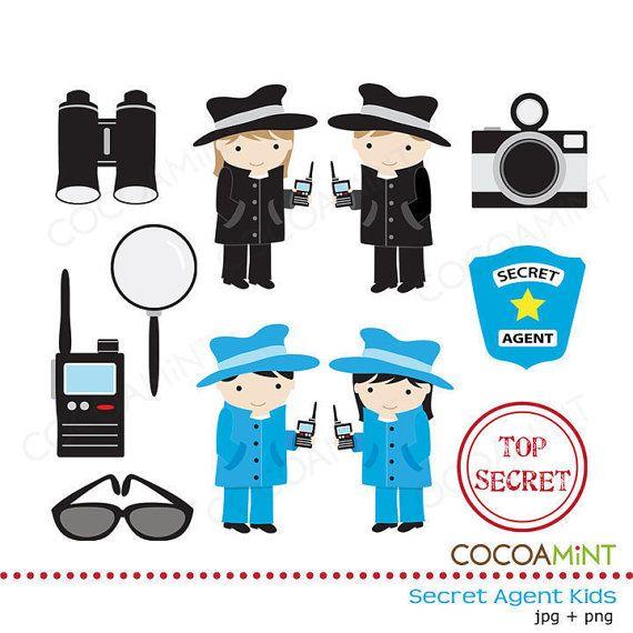 Agency d clip art. Detective clipart gadgets