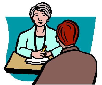 Free job download clip. Detective clipart interview