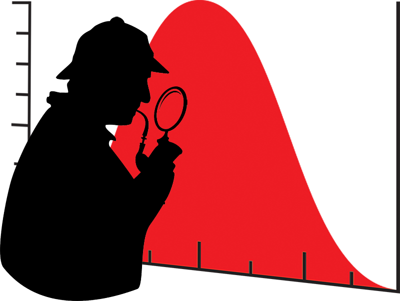 The curse of bell. Detective clipart interview