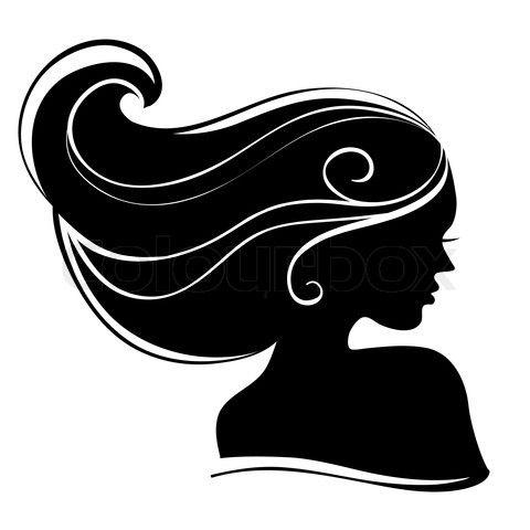 Silhouette female clip art. Detective clipart lady detective