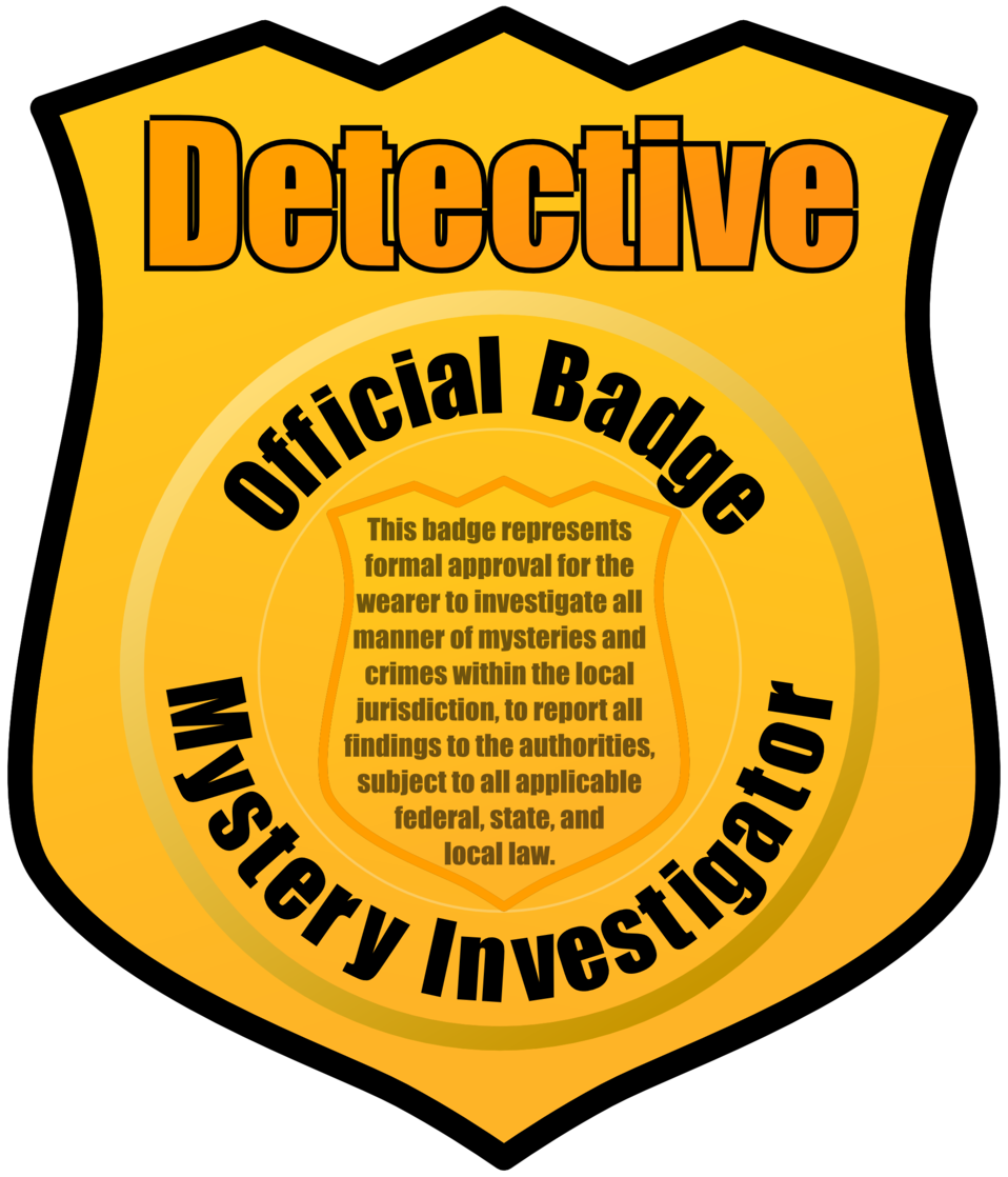 Public domain clip art. Detective clipart legal