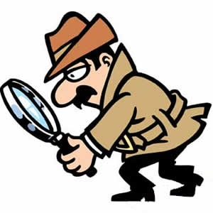 Free word cliparts download. Detective clipart little