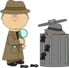 Evidence clipart look for clue.  best clip art