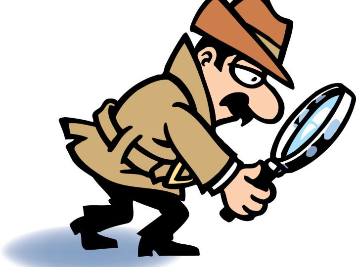 Cliparts making the web. Detective clipart microscope