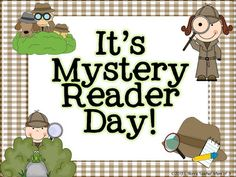 best readers images. Mystery clipart mystery reader