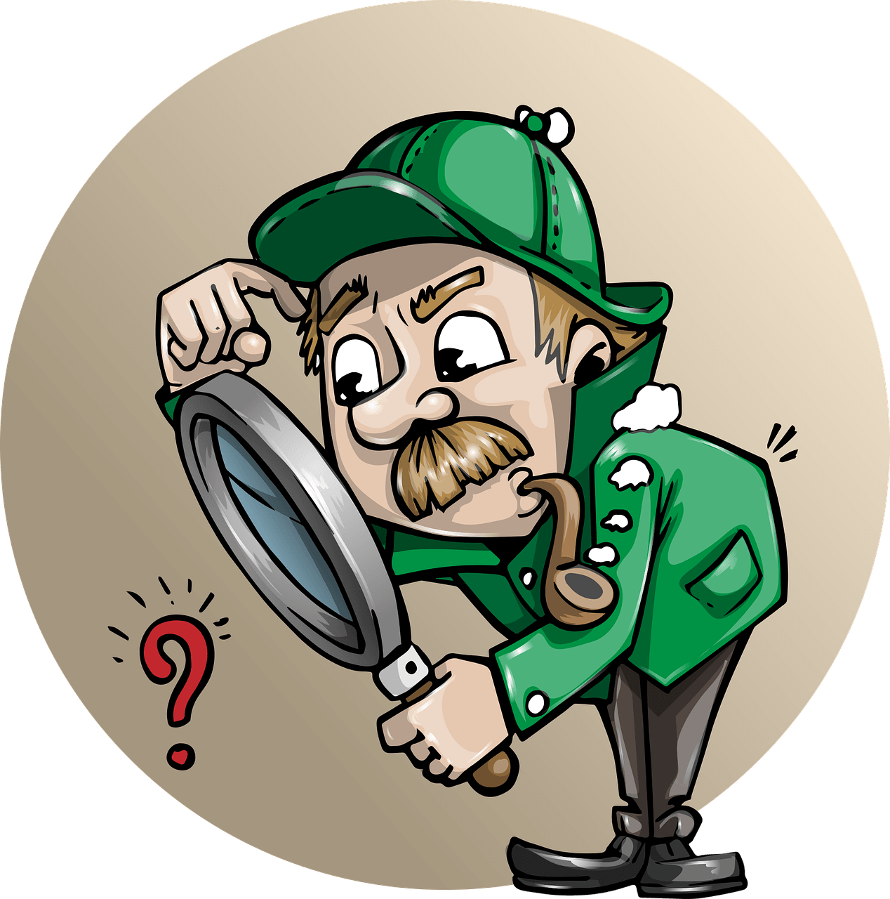 How to use your. Detective clipart non fiction