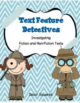 Detective clipart non fiction. And text detectives secor