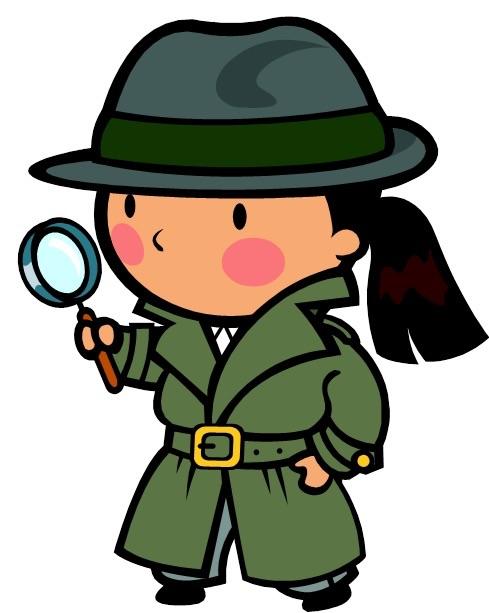 Detective clipart observant. Maths