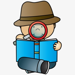 Free clip art cliparts. Detective clipart research