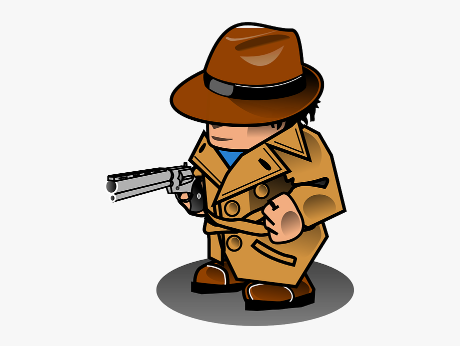 Magnifying glass clipartix . Detective clipart research