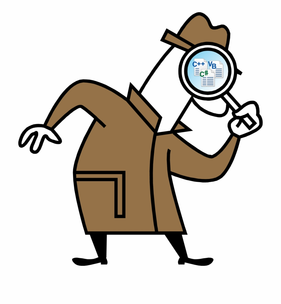 Detective clipart research. Good clip arts for