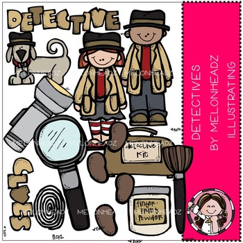 Worksheets teaching resources tpt. Melonheadz clipart detective