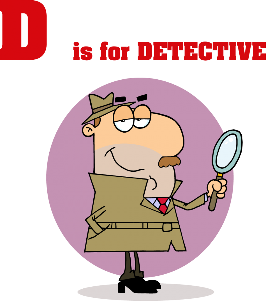 Sgblogosfera mar a jos. Detective clipart spelling
