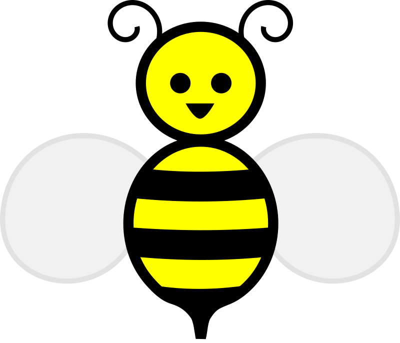 Clear bee . Detective clipart transparent background