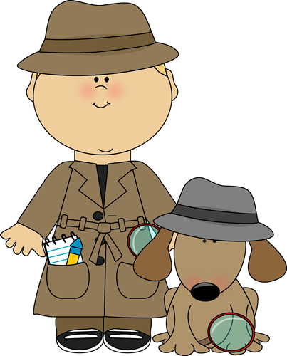 Detective clipart truth. Girl could label agents