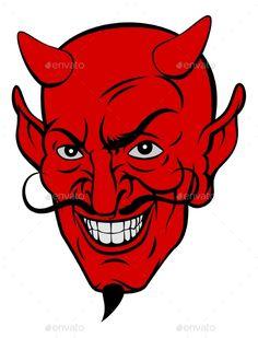 Devil clipart. Clip art black and