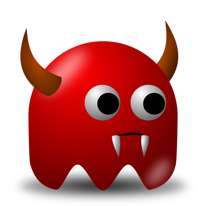 Red happenings devils read. Devil clipart devil child
