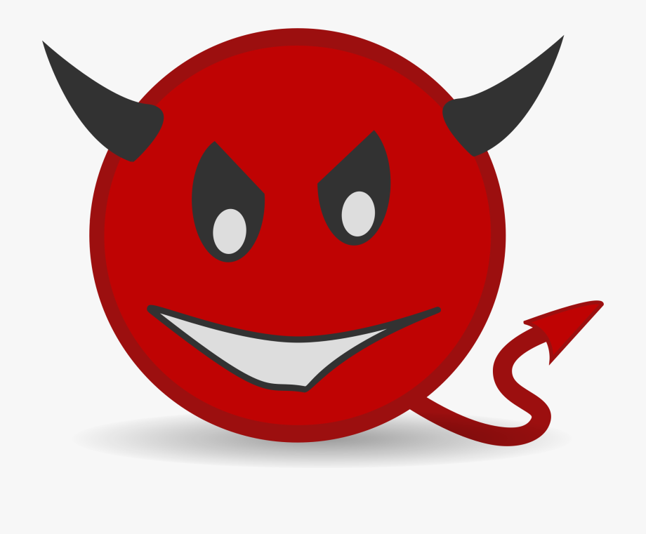 Devil clipart devil face. Cartoon clip art book