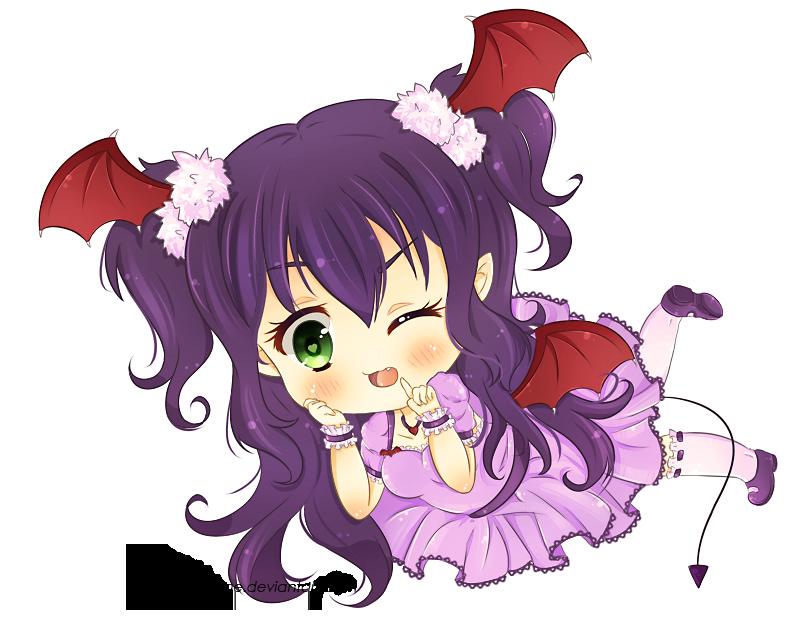 Devil clipart devil girl. Sweet by lneko hime