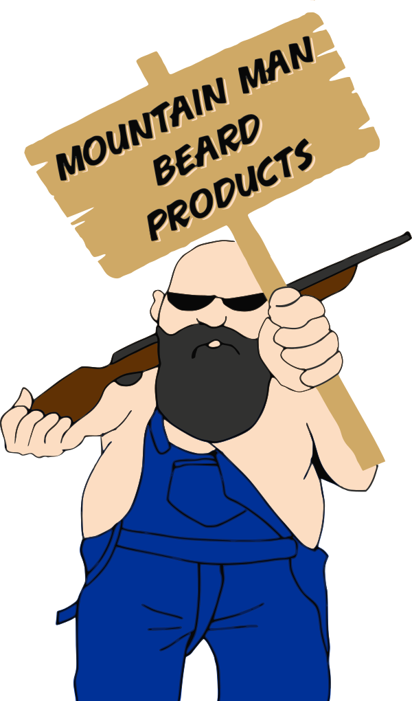 Testimonials beard products cartoon. Pioneer clipart mountain man