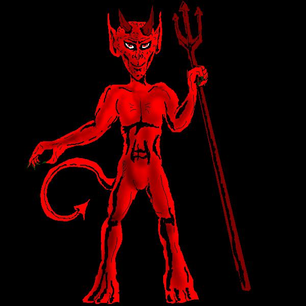 Trident clipart devil pitchfork. Biblodiac page the zodiac