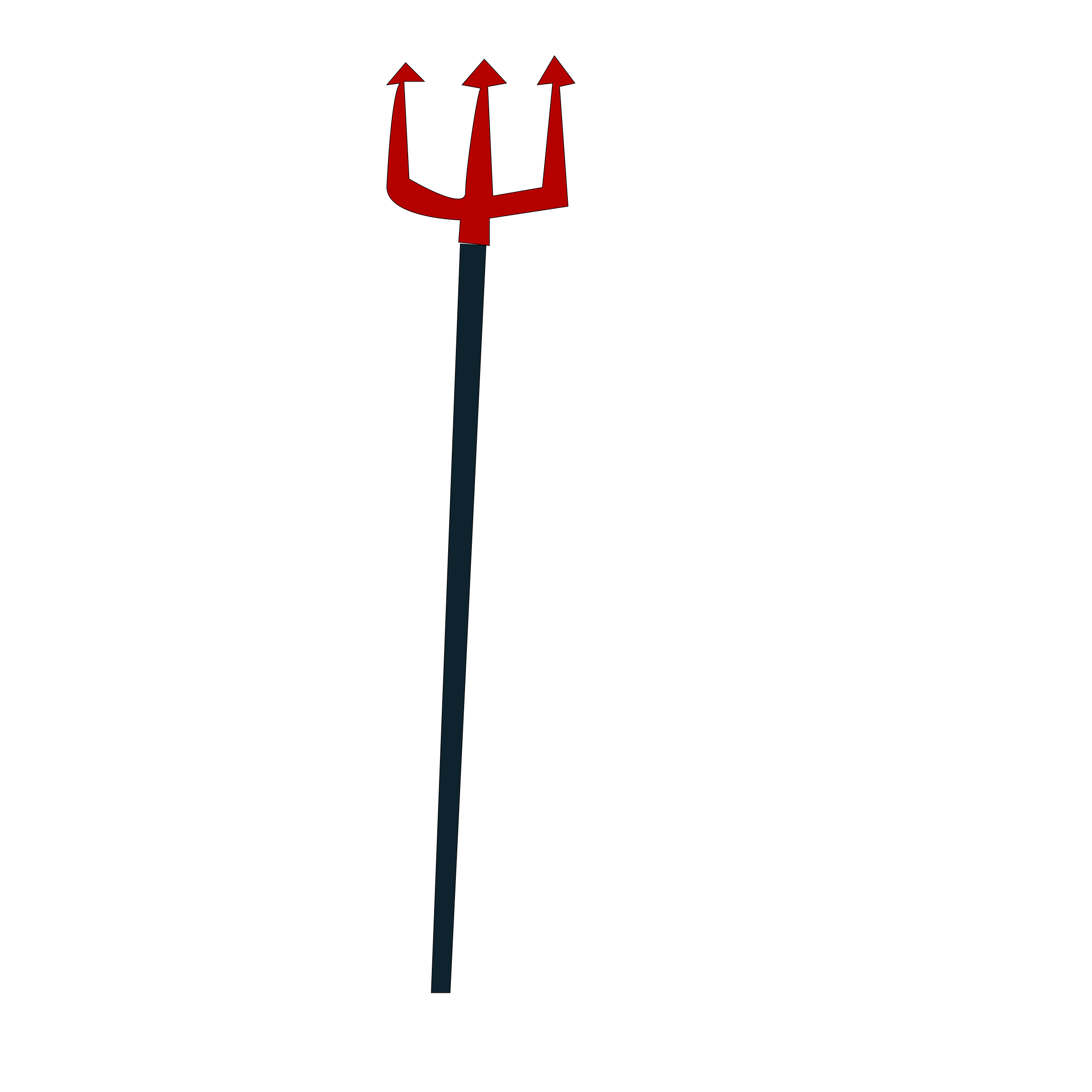 Devil clipart holding pitchfork. Group pitchforkicon