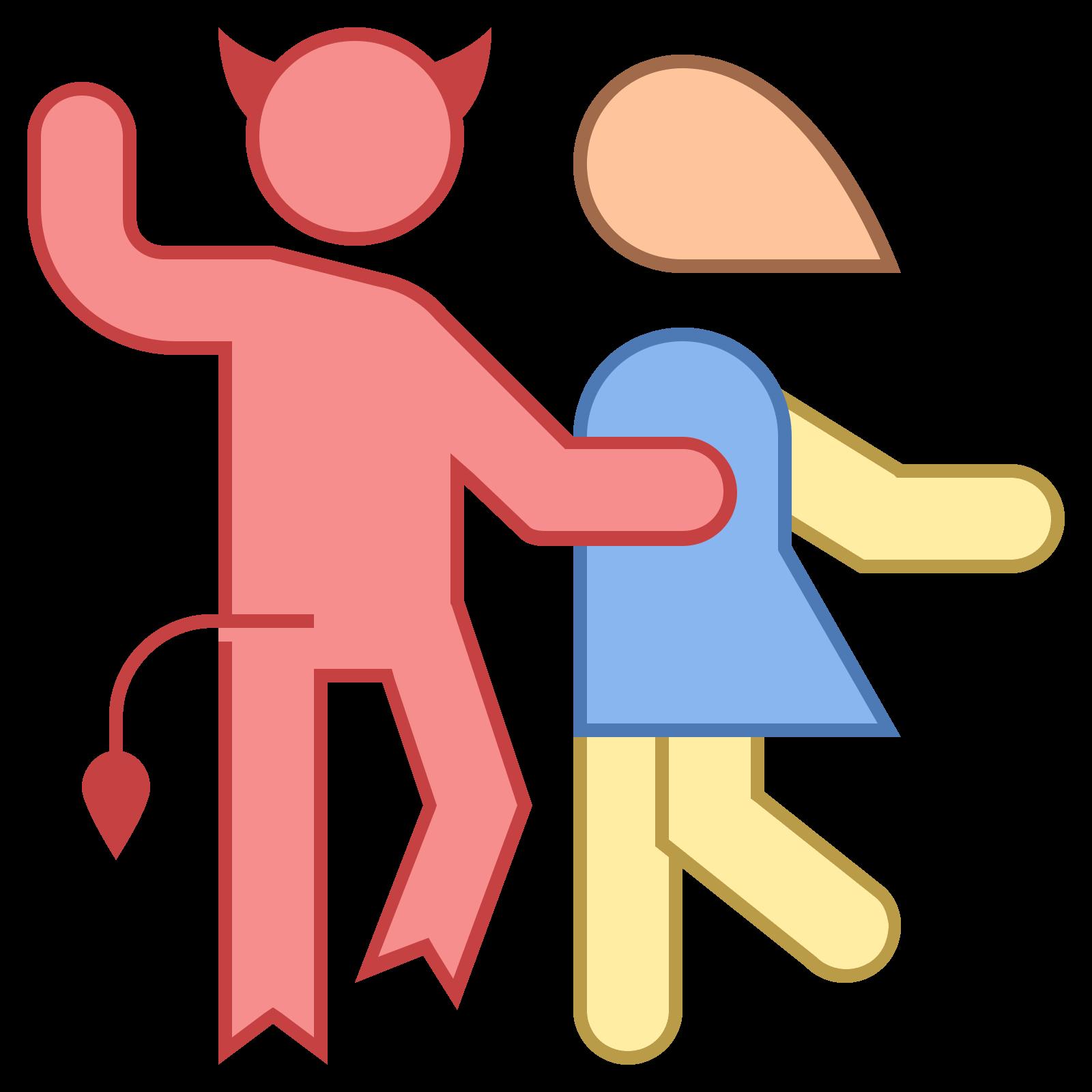 Dance with icon kostenloser. Devil clipart hoof