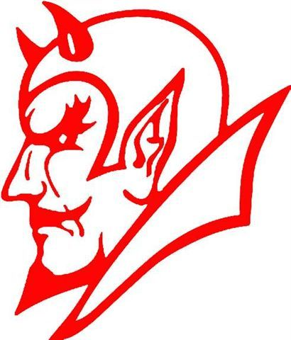 Pin on red . Devil clipart logo