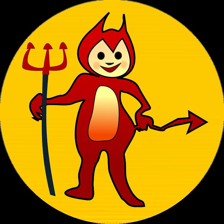 Demon red free on. Devil clipart logo