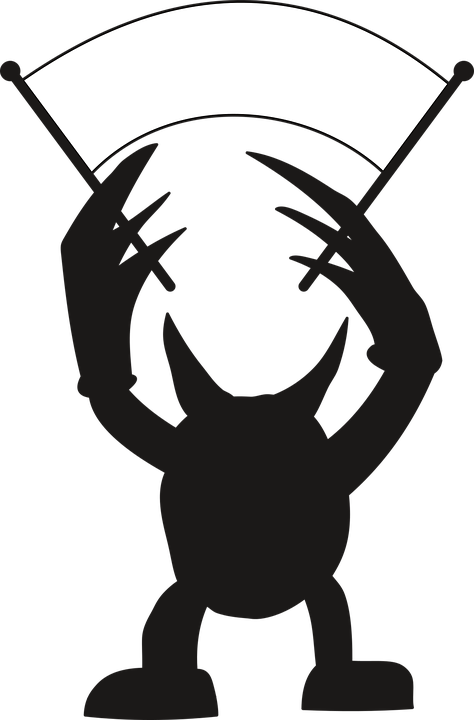 Devil clipart logo. Silhouette cliparts shop of