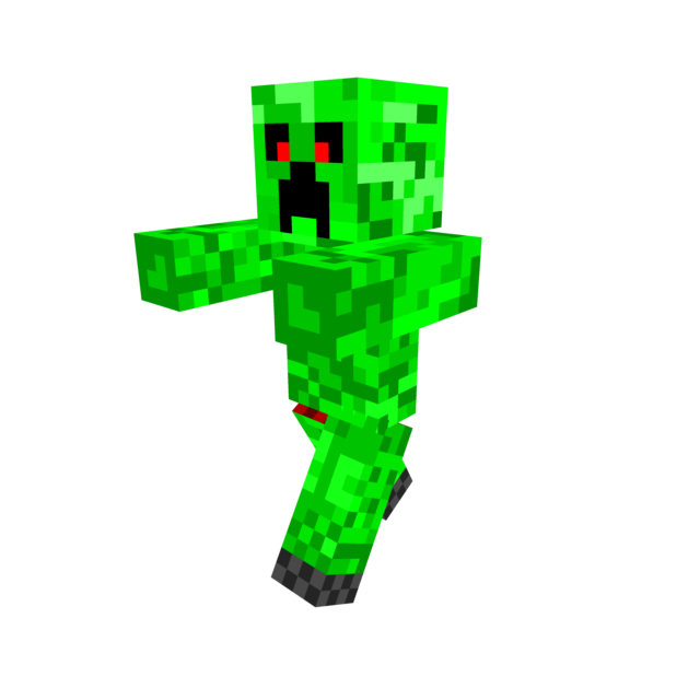 Creeper downloadable minecraft by. Skin clipart race